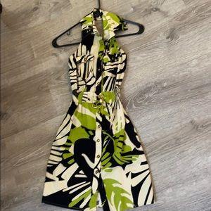 Tropical summer dress XS
